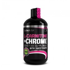 L-Carnitine + Chrome - 500 ml (körte-alma)
